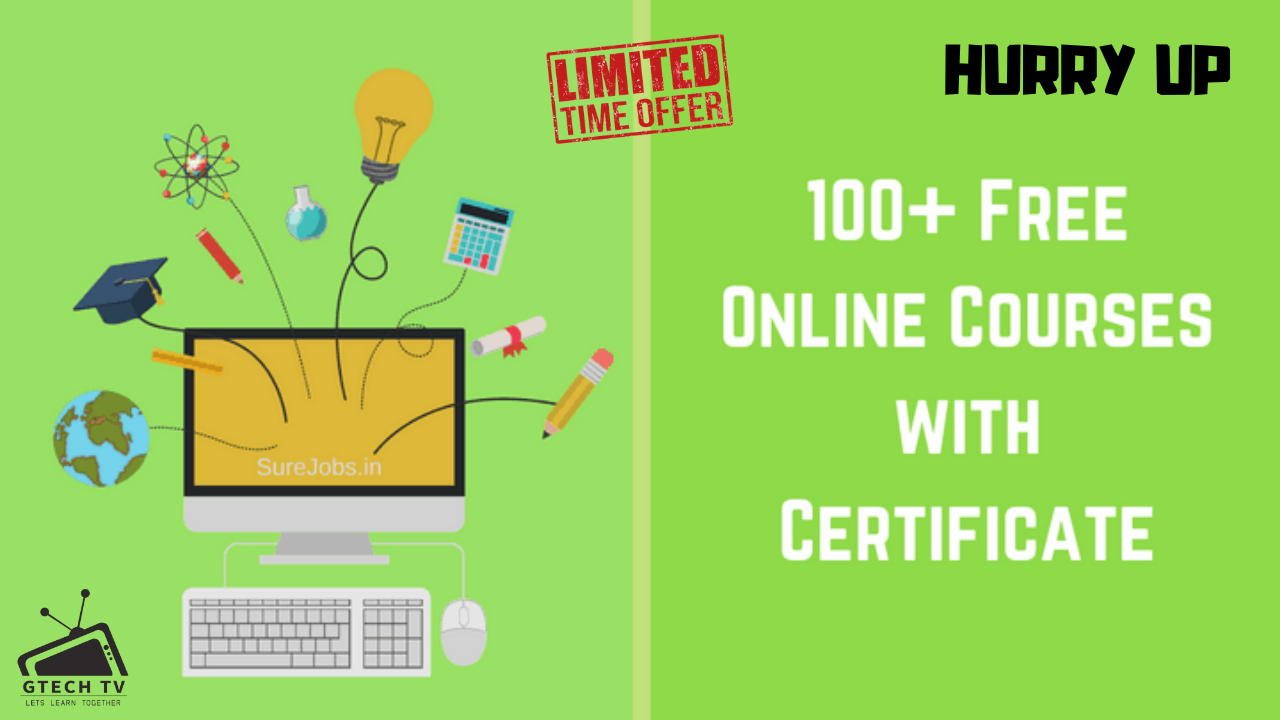 100+ Free Online Courses with Certificates Explanation in Urdu/Hindi (2020)